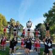 Sirens Lions Perform in Sacramento Santa Parade