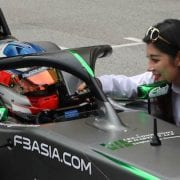 Jaden Conwright in Formula 3 Championship Drivers Seat