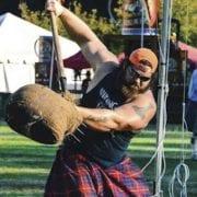 Worlds Strongest Men Compete in Labor Day Scottish Games