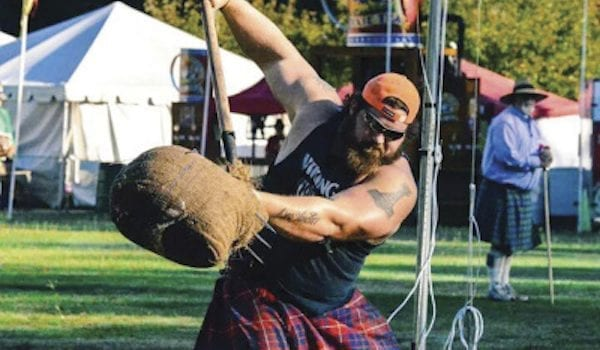 Worlds Strongest Men Compete in Labor Day Scottish Games