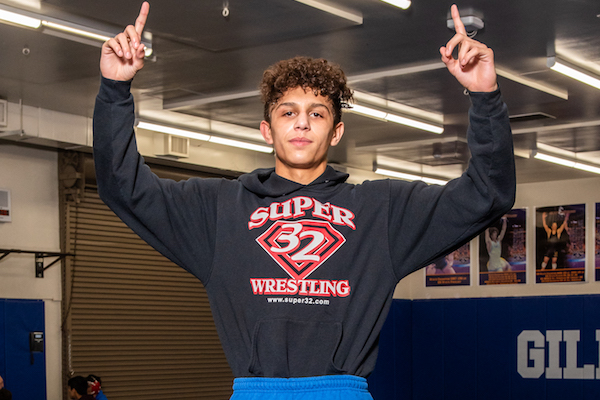 CIF Wrestling Championships, Gilroy, Chase Saldate, Building Confidence in Young Players