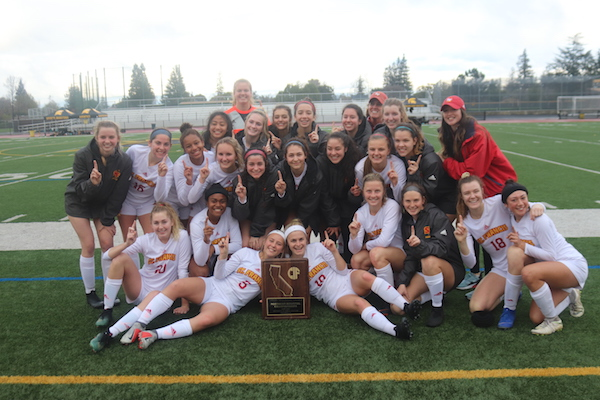 St. Francis Soccer Wins CIF State Northern California DII Regional Title