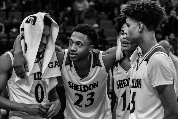 Sheldon Basketball: Out In The Open