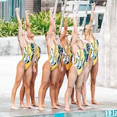 Walnut Creek Aquamaids score gold and team high point award at U.S. Nationals