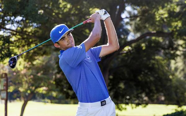 SportStar of the Week, Davis Golfs Luke Dugger