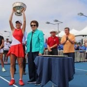 Katie Volynets Joins Tennis Pros At The US Open