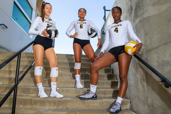 Bishop O'Dowd volleyball, Dragons