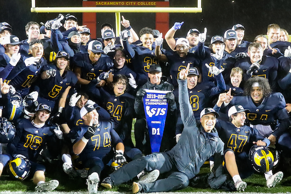 Oak Ridge football, Sac-Joaquin Section