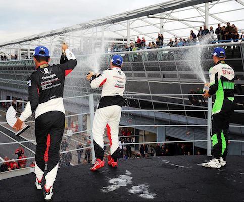 Newark Memorial grad Jaden Conwright 2019 Porsche Carrera Cup (4 Place Championship Finish)
