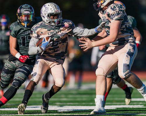 Sports Prep Star -- Alan LloydYgnacio Valley-Concord -- Football -- Senior Alan Lloyd shined in the defensive secondary while competing in the Jr Prep Sports California Patriot Bowl senior All-Star game on Dec, 28 at Diablo Valley College. Picking up SportStar of the Week honors