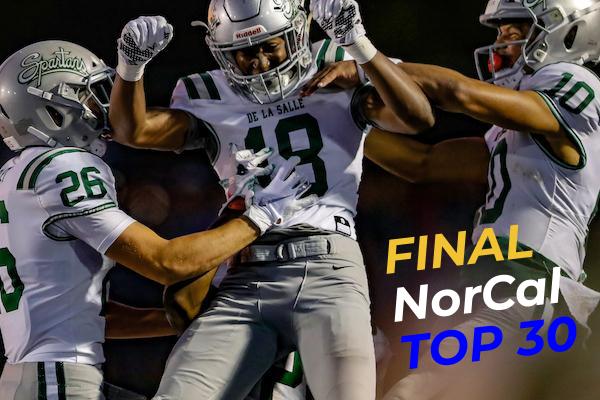 Final NorCal Football Rankings