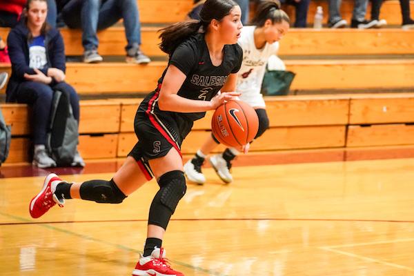 Salesian Girls Basketball, Alexsandra Alvarado
