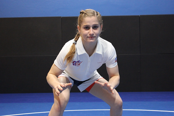 Amit Elor is The next big thing in U.S. women's wrestling is a remarkable 15-year-old College Park-Pleasant Hill sophomore with dazzling abilities and uncanny poise.