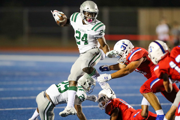 Shamar Garrett, De La Salle, Football