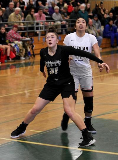 Ashley Hiraki stepped up, big! Hiraki delivered a superb all-around performance to help lead the Monarchs to a 69-53 win over St. Joseph Notre Dame-Alameda in the CIF Northern Regional Open Division Championship on March 10.
