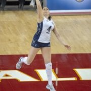 Lindsey Berg: Volleyball Footwork Makes Perfect Passes
