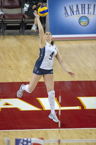 Lindsey Berg Volleyball: How Your Feet Help to Make Perfect Passes