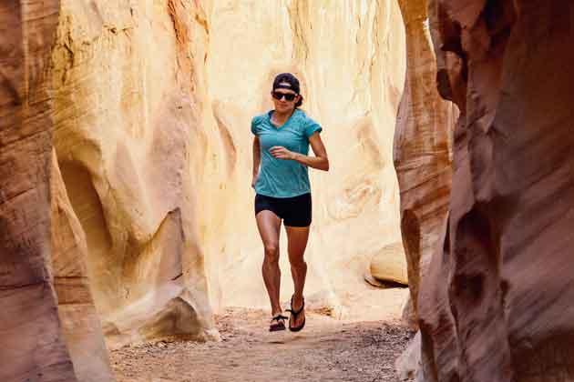 Keep Moving, Distance runner Katherine