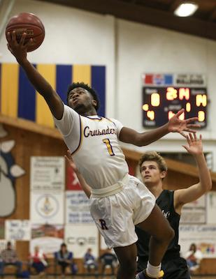 Bryce Monroe earned the first-team All-NorCal Monroe the honor of People's Choice Player of the Year