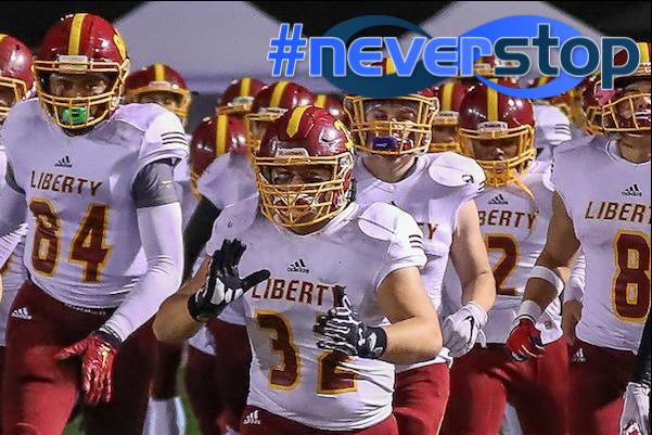 Brock Hammer, Liberty, Football, #NeverStop
