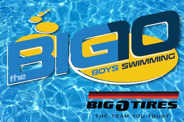 Boys Swimming Big 10, SportStars