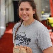 Madi Mays Minutemen Softball SportStar of the Week
