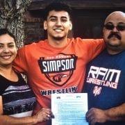 Simpson University Signs Fresno's Luis Saucedo