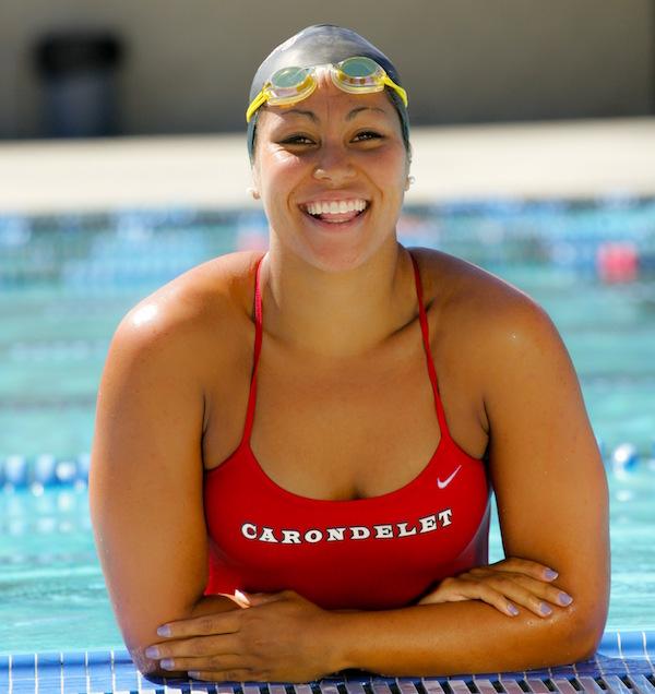 Chelsea Chenault, Carondelet, Swimming