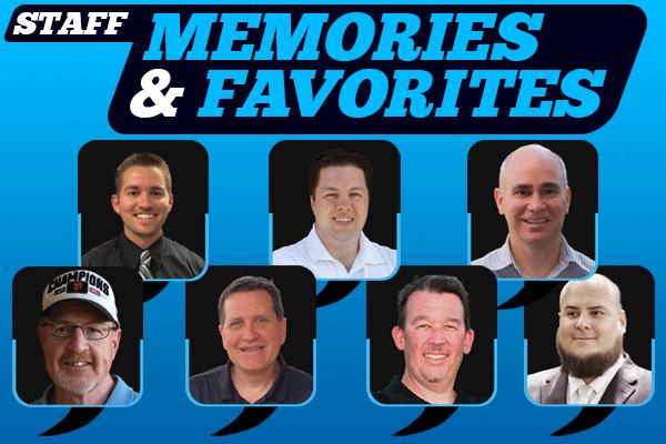 Anniversary, Staff Memories, Favorites, SportStars