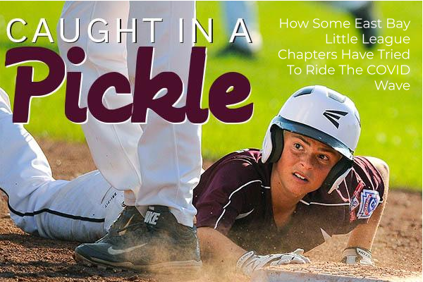 Bryson's First Pitch. sports dimmer switch. Little League: Caught In A Pickle | East Bay Chapters Ride COVID Wave