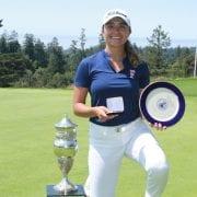 Clutch Par Bags Golf Championship for CSU Fullerton's Sara Camarena