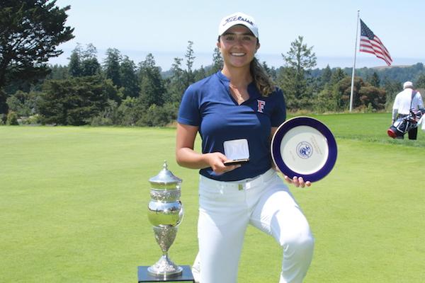 Mexico City native Sara Camarena wins 54th California Women's Amateur Golf Championship