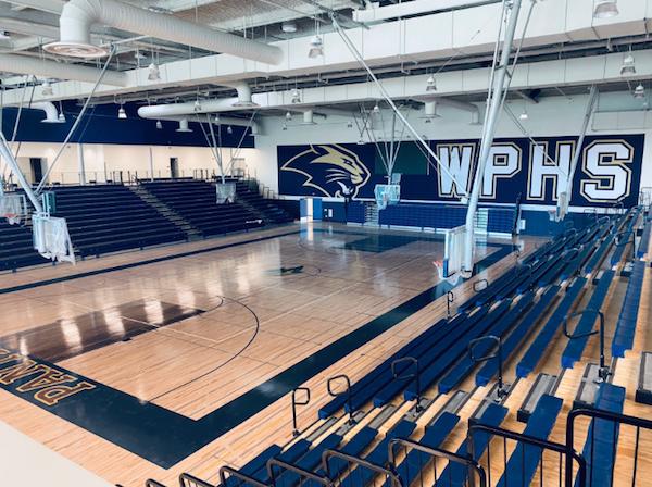 West Park, Roseville, Gymnasium, Basketball