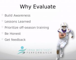 Athlete Season Performance Evaluations