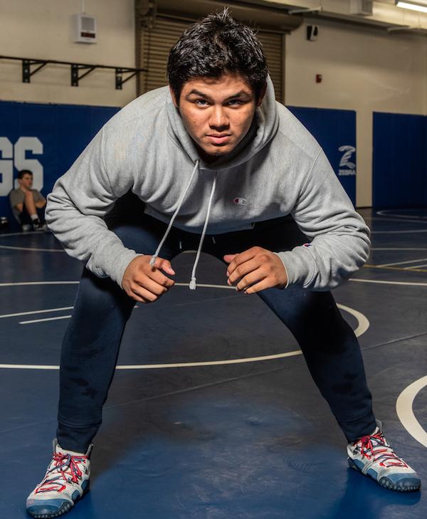 Nicholas Villarreal, Gilroy, Wrestling