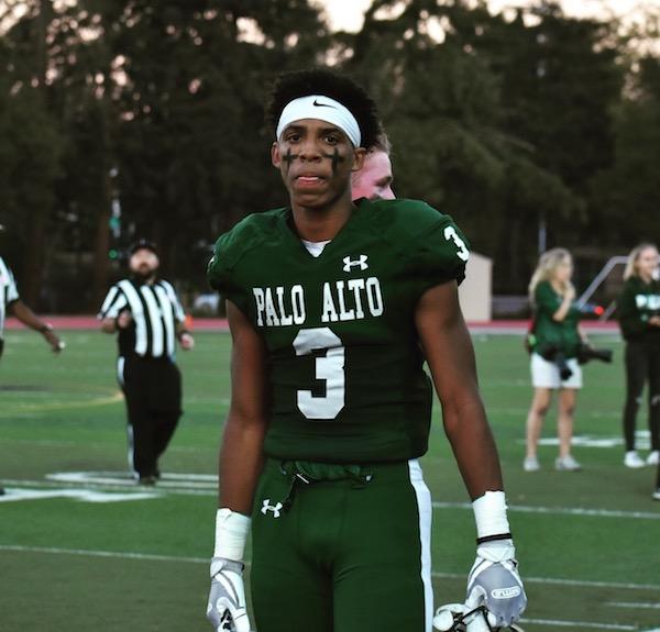 Bay Area 75 Rankings, Jamir Shepard, Palo Alto, Football
