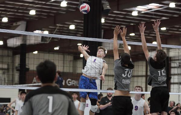 Bay Area 75 Rankings, Josh Ewert, Campolindo, Pacific Rim, Volleyball