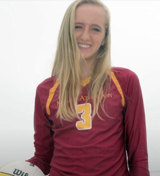 Bay Area 75 Rankings, Natalie Grover, Menlo-Atherton, Volleyball