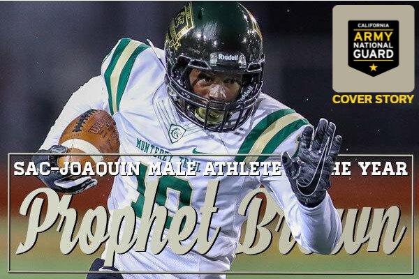 Prophet Brown, Monterey Trail, Elk Grove, Football