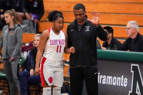 St. Mary's, Basketball, Jasmine Farmer