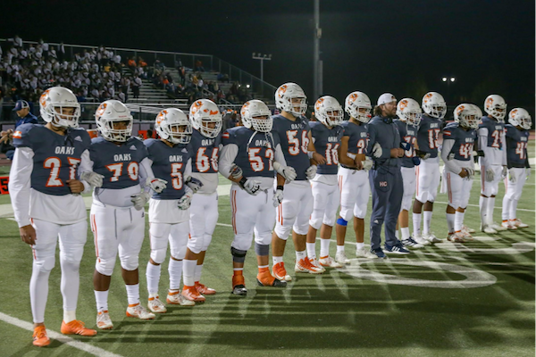 """Cosumnes Oaks Football 