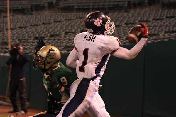 Sean Fish, Rancho Cotate, Football