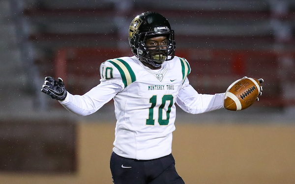 Prophet Brown, Monterey Trail, Football