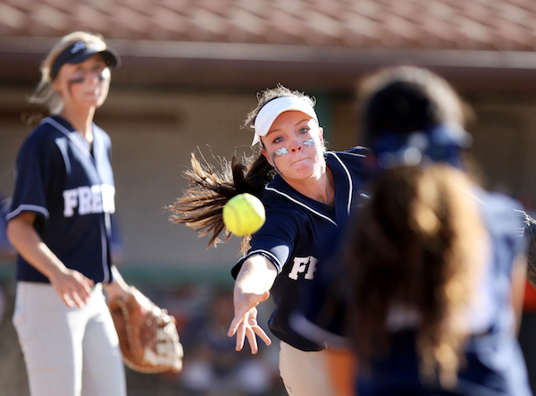 Vanessa Strong, Freedom softball, NCS championship