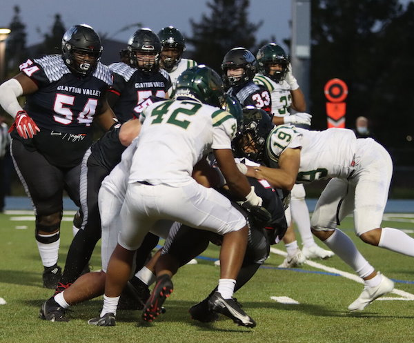Pahulu's POV | Monterey Trail Football Powers Past Clayton