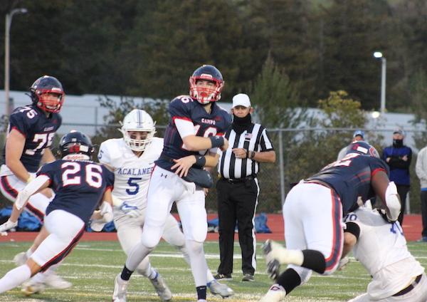 Jacob Griessel, quarterback, Moraga